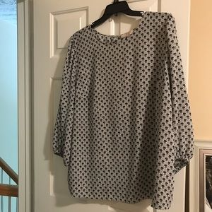 Loft blouse 3/4 sleeves